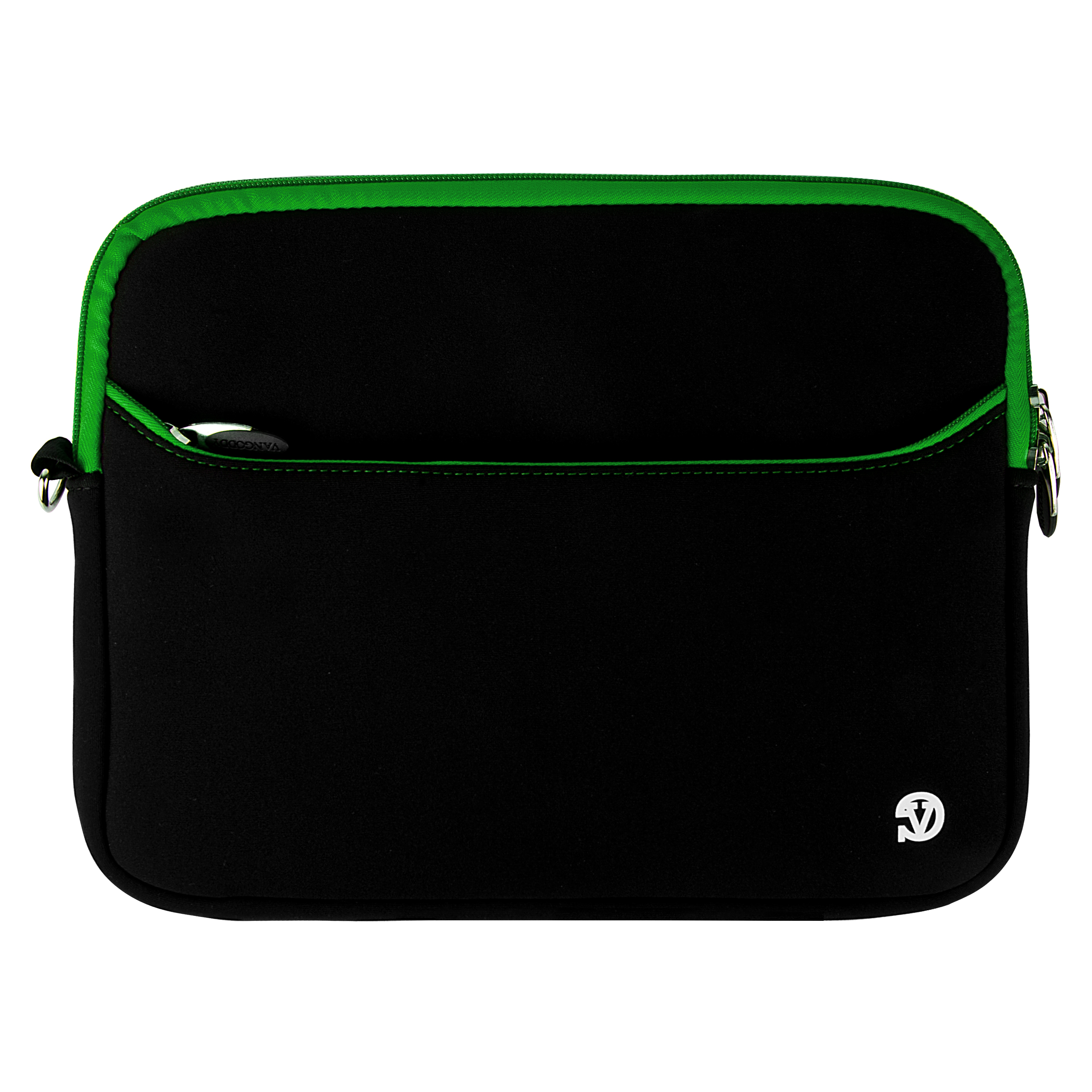 "Neoprene Sleeve 10"" (Black/Green Trim)"