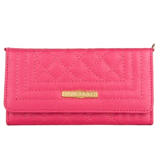 Puru Lady Wallet Cellphone Case (Magenta)