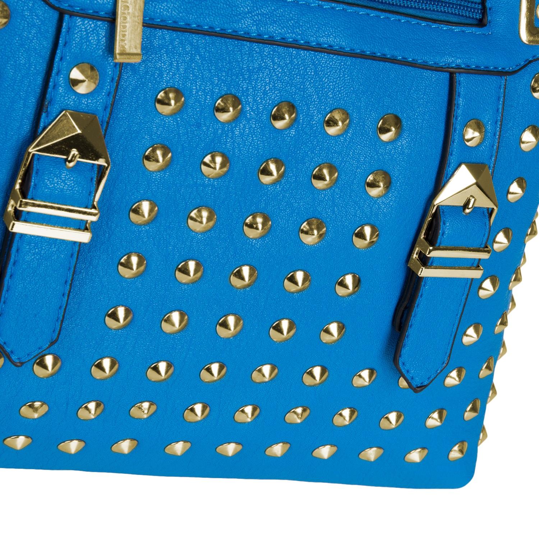 Rock Studded Bag (Blue)