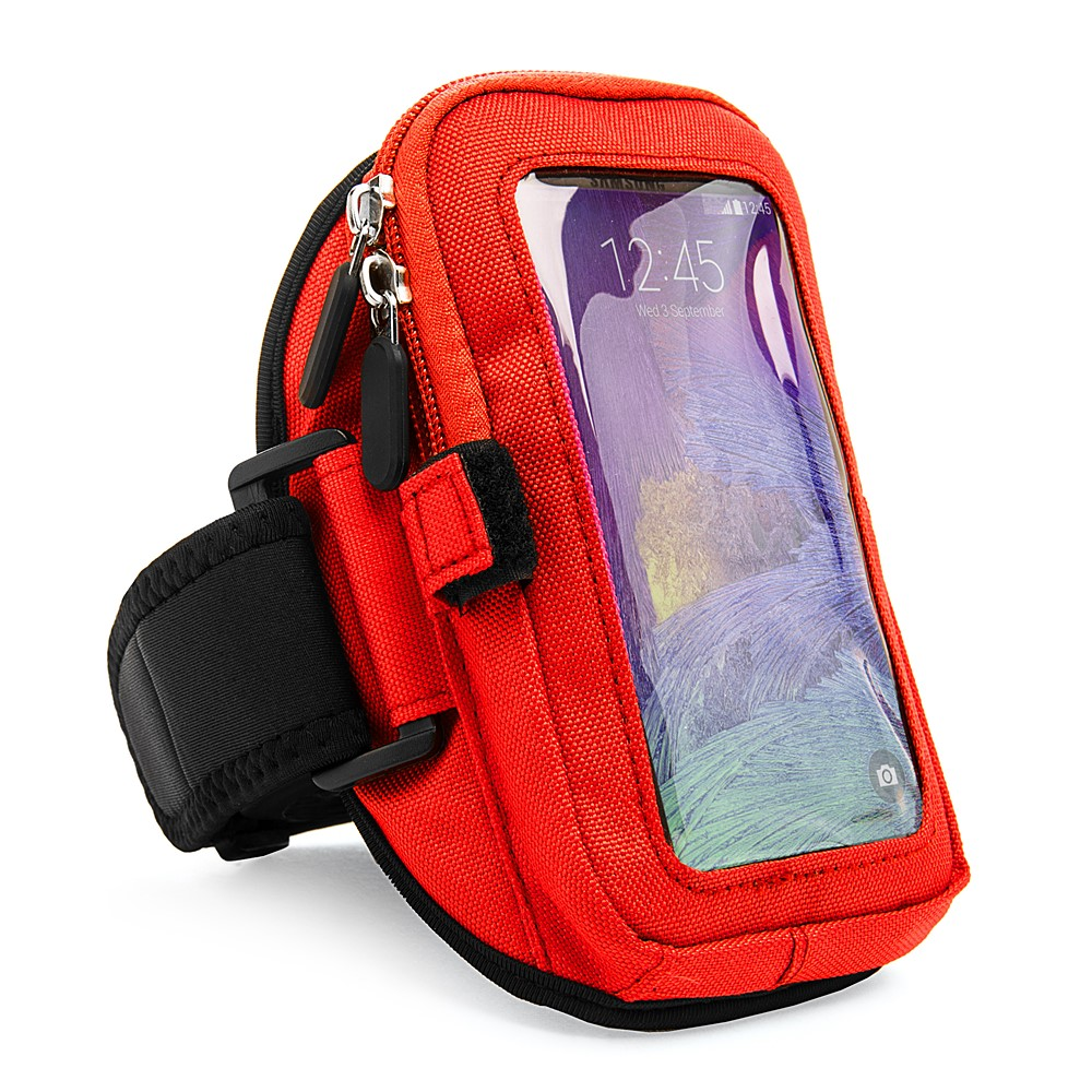 Zippered Armband (Red)