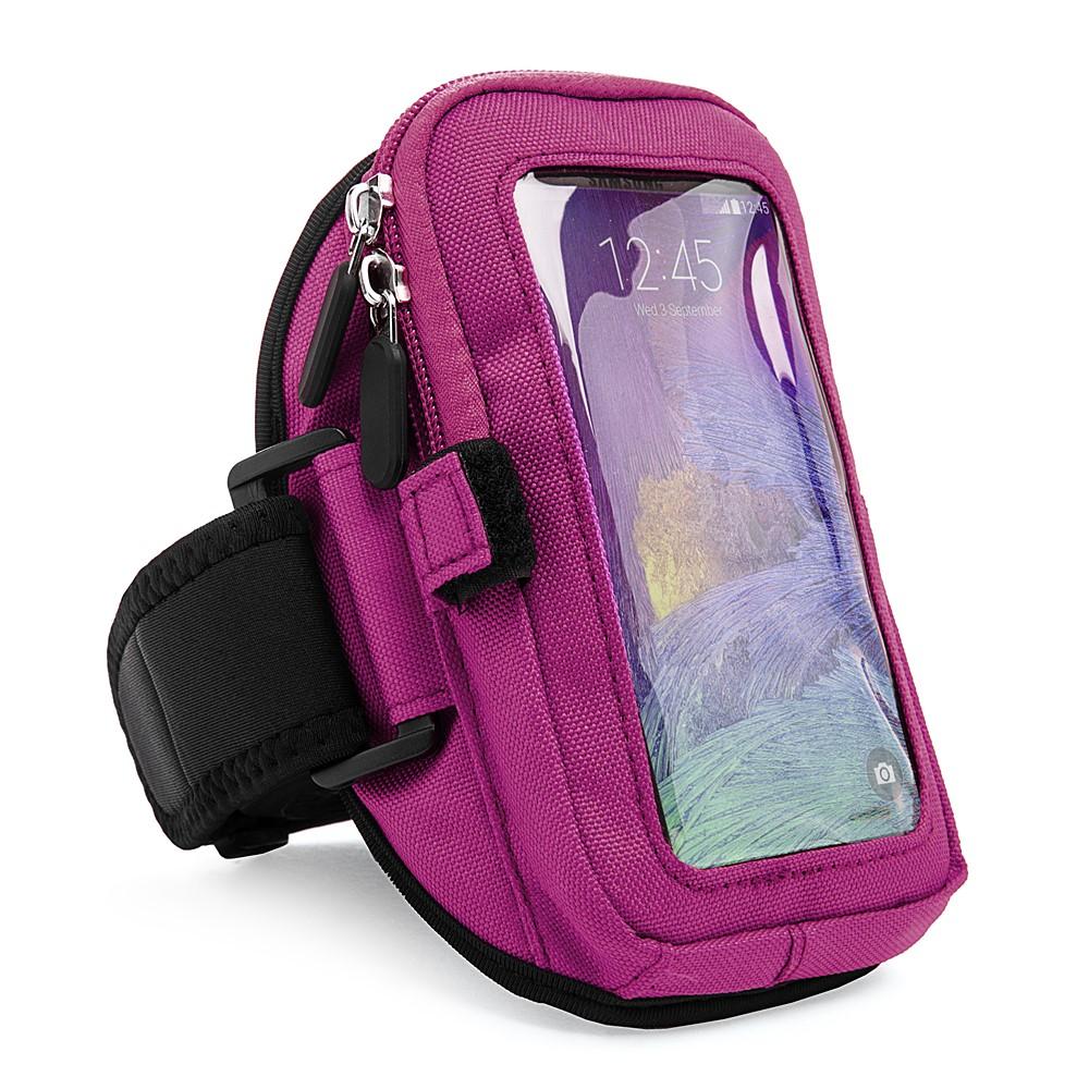 Zippered Armband (Purple)