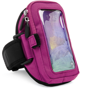 Zippered Armband (Purple)