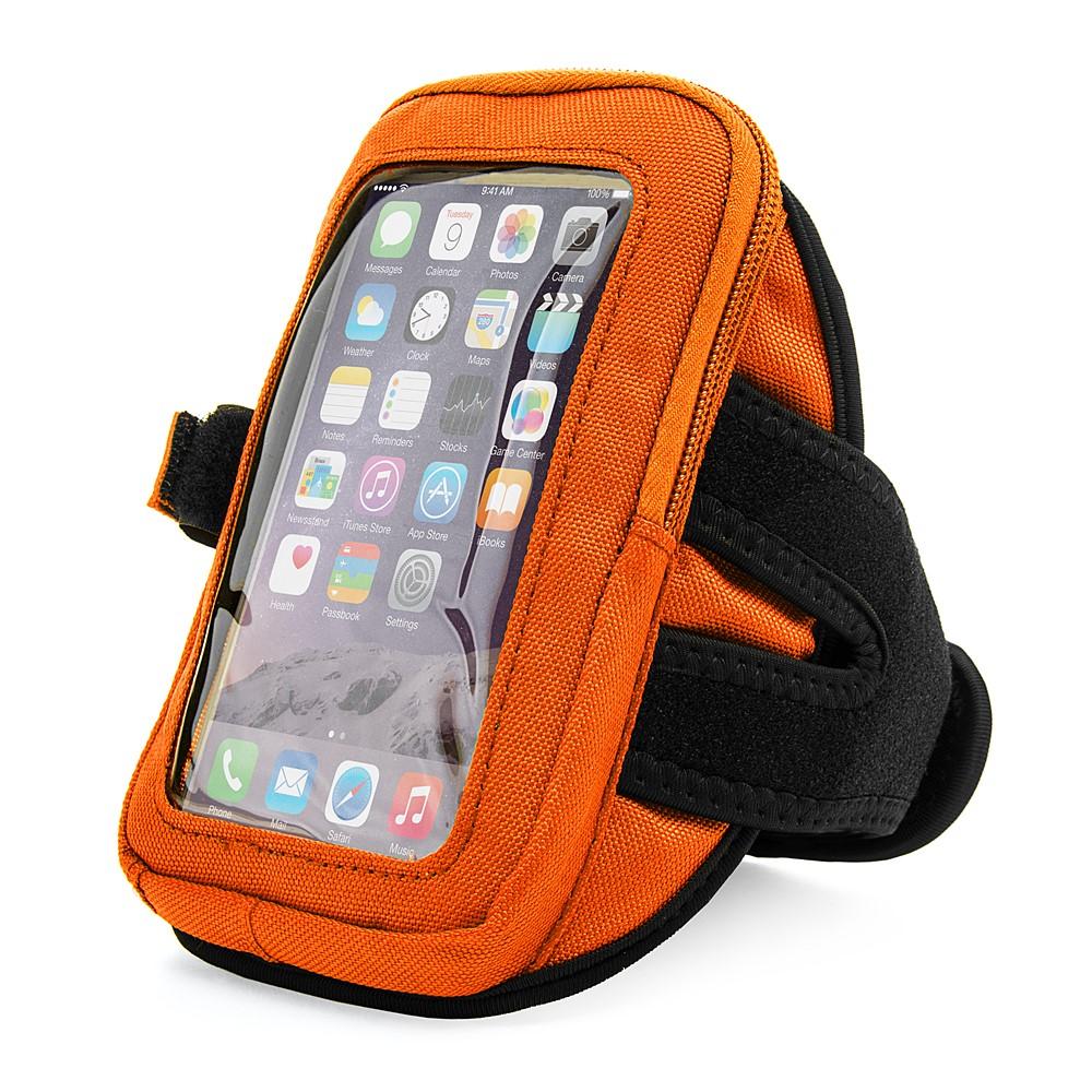 Zippered Armband (Orange)