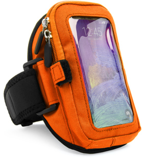 Zippered Armband (Orange)