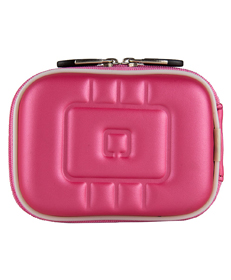 Square Eva Carrying Case (Metallic Pink)