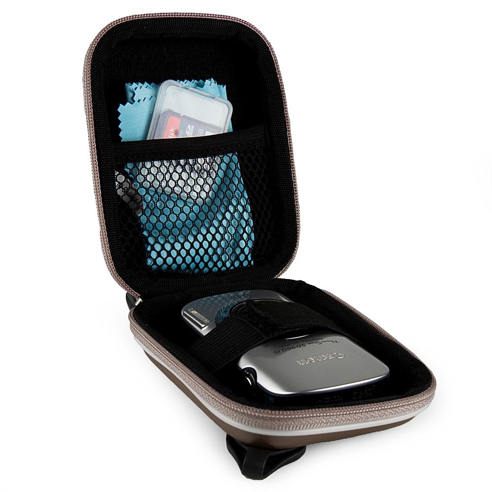 Square Eva Carrying case (Metallic Gun Metal)