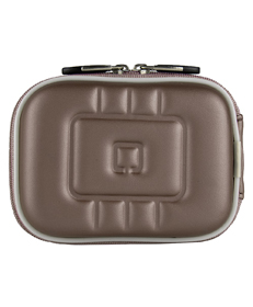 Square Eva Carrying case (Metallic Gun Metal)