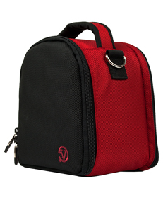 Laurel Case for DSLR Cameras (Red)