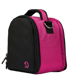 Laurel Case for DSLR Cameras (Pink)