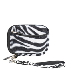 (Black & White Zebra Design) Soft Mini Glove Series
