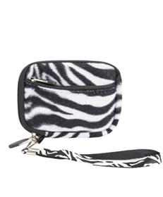 (Black & White Zebra Design) Soft Mini Glove Series