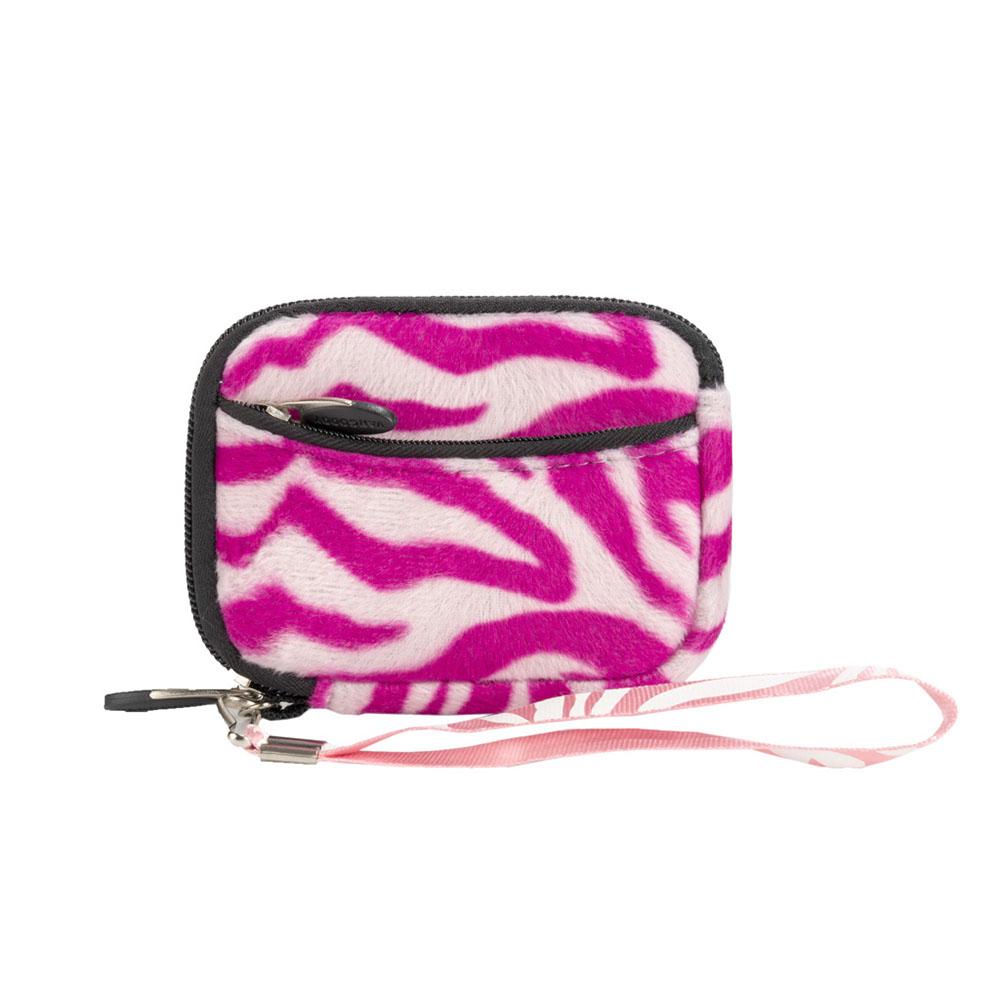 (Pink & White Zebra Design) Soft Mini Glove Series