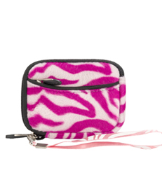 (Pink & White Zebra Design) Soft Mini Glove Series