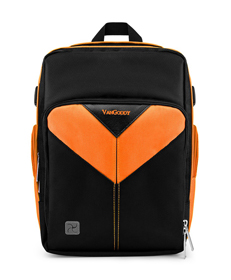 Sparta DSLR Camera Bag (Black/Orange)