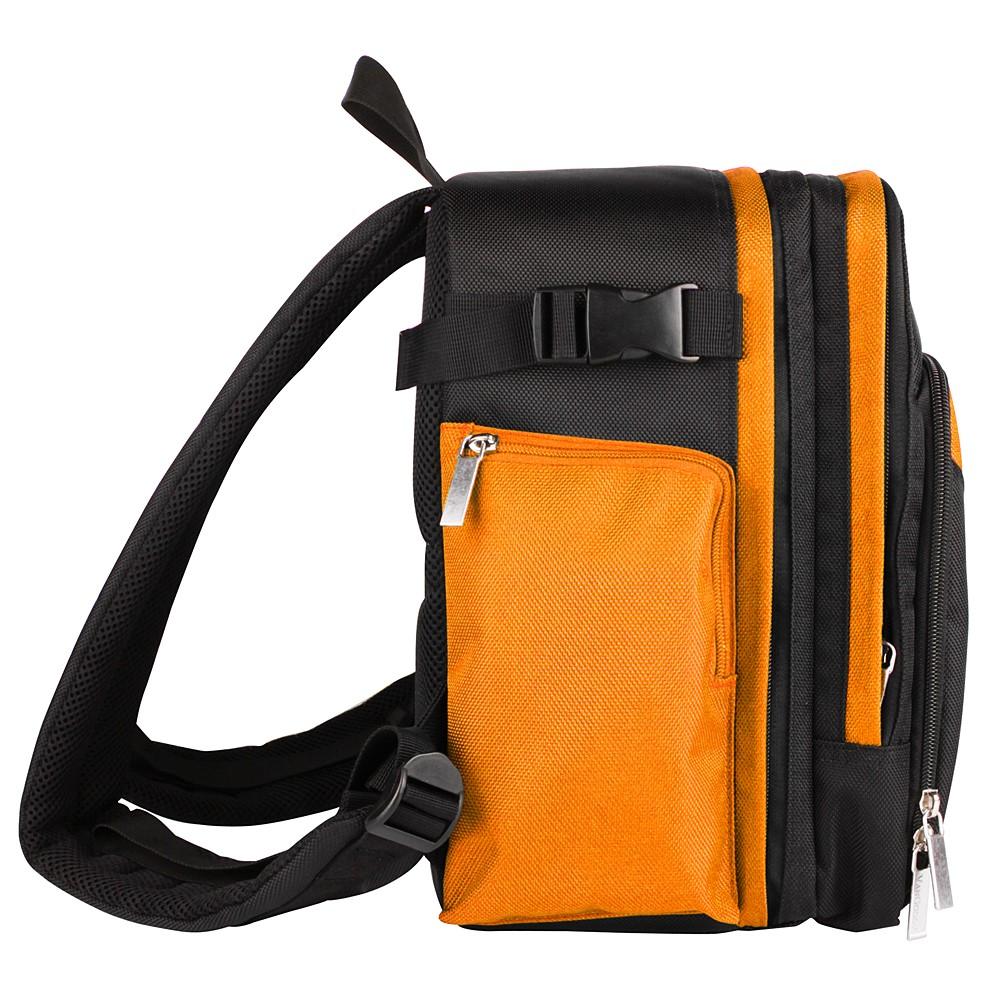 Sparta DSLR Camera Bag (Black/Orange)