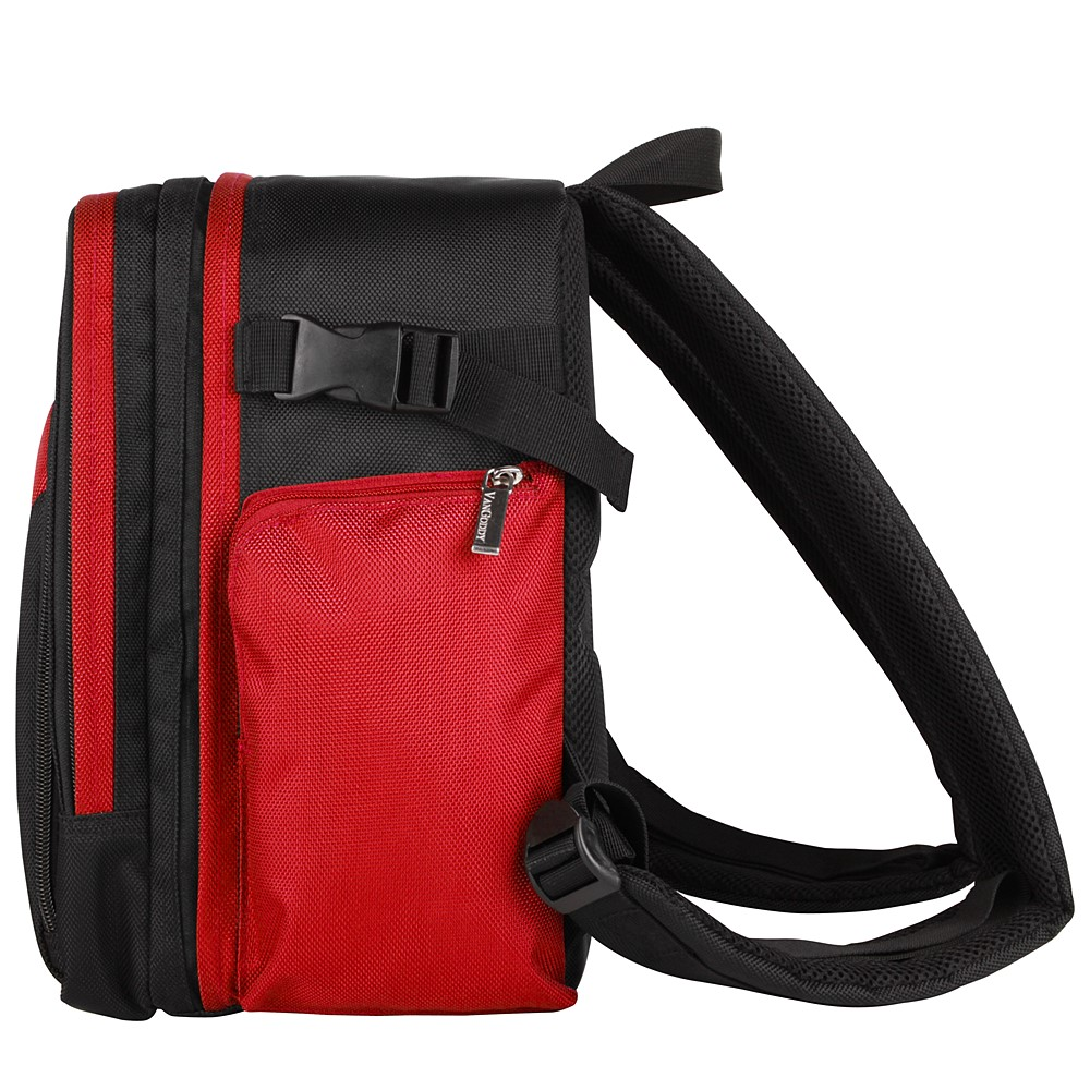 Sparta DSLR Camera Bag (Black/Red)