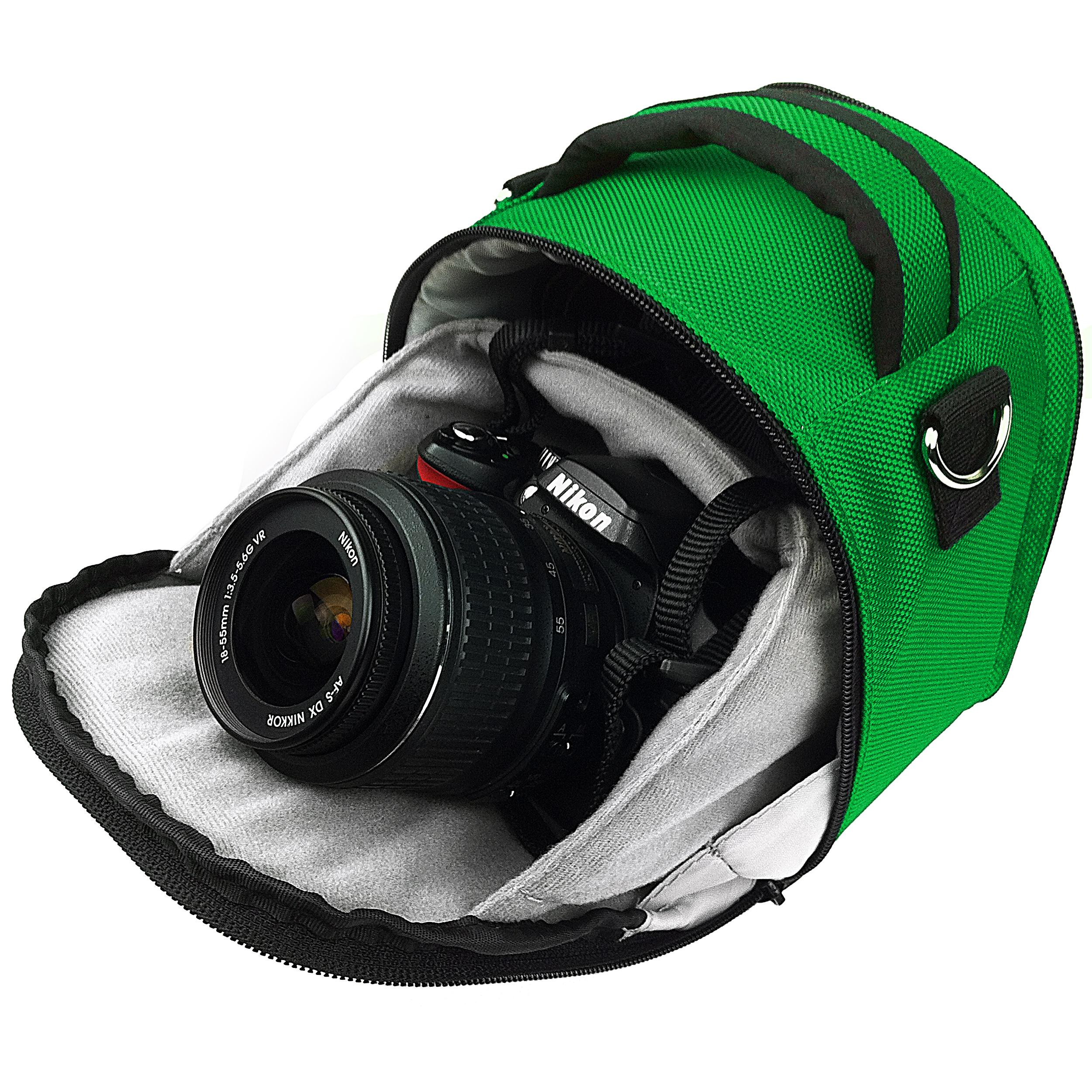 Laurel Case for DSLR Cameras (Dark Green)
