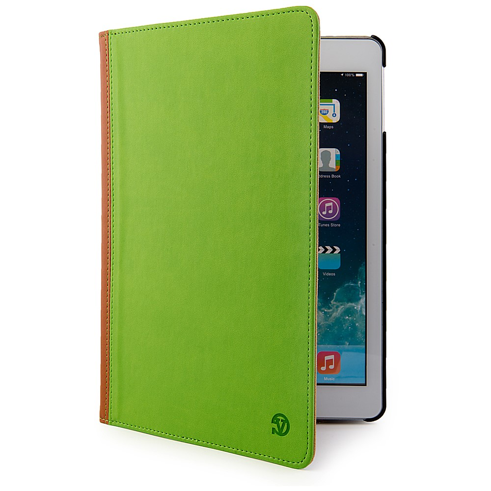 Mary Case for iPad Air with Sleep Mode (Green/Brown)