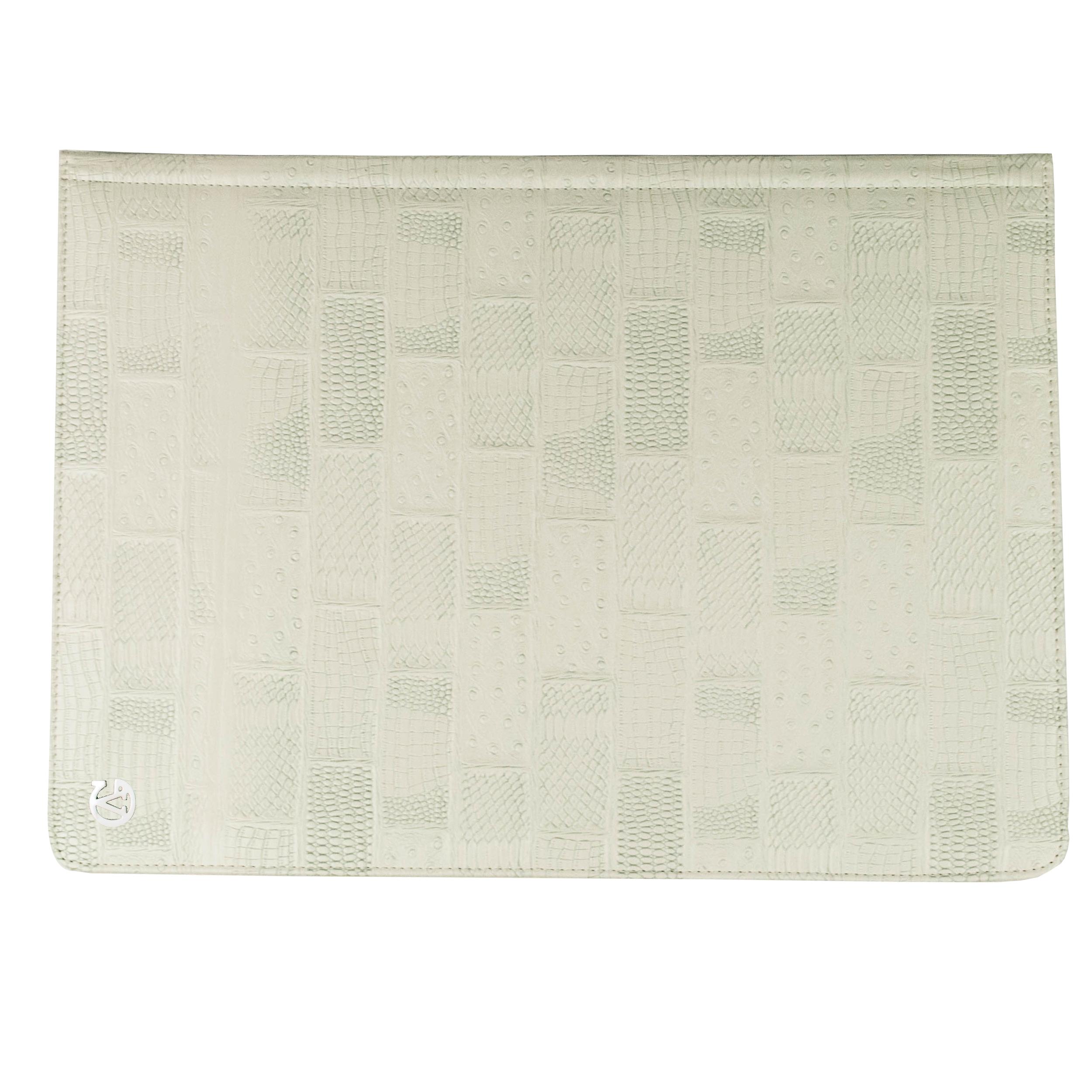 "Laptop Portfolio for 13"" Macbook (White)"