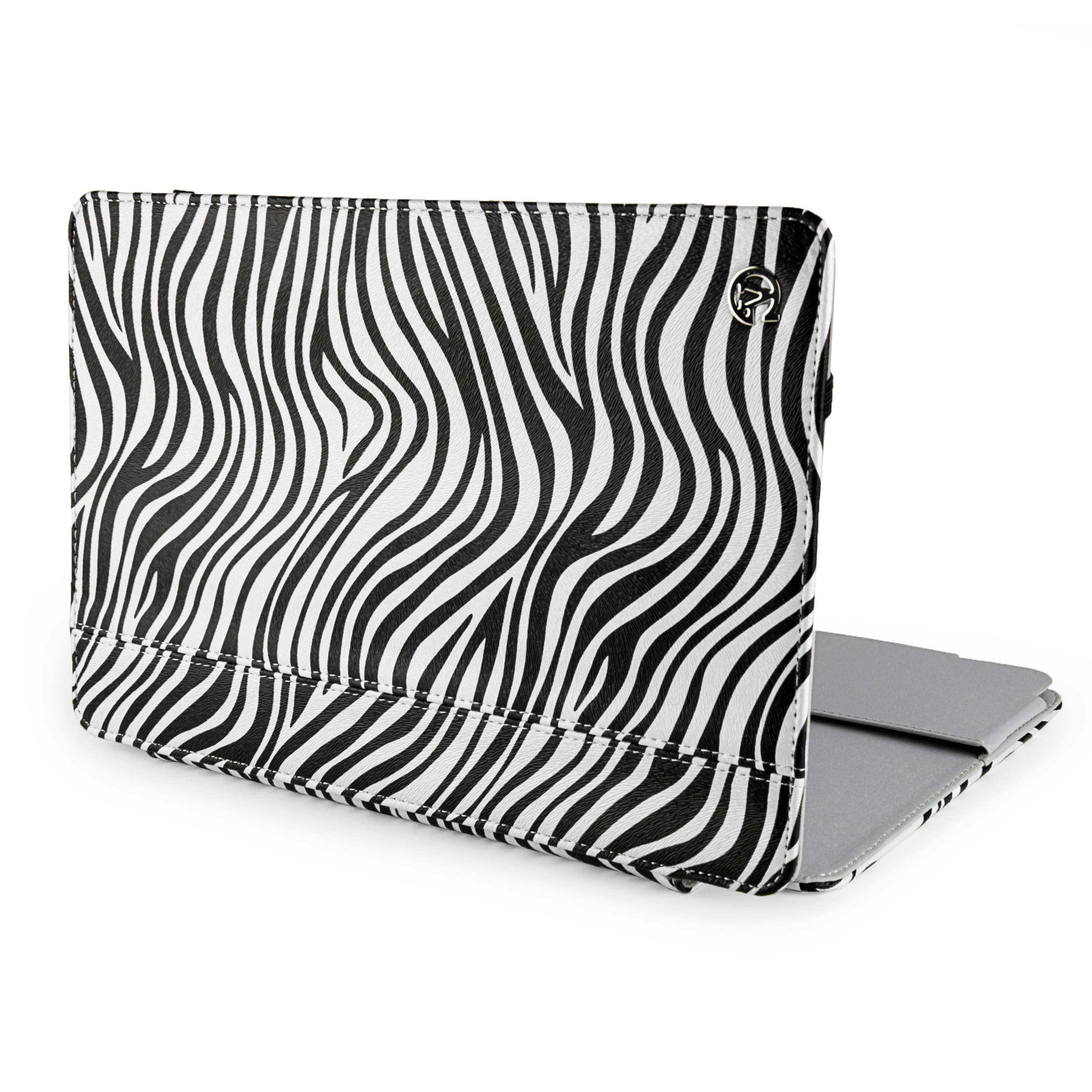 "Mary Portfolio Case for 11"" MacBook® Air (Black/White Zebra)"