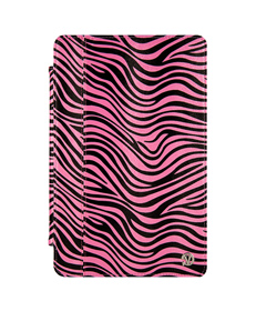 "Mary Portfolio Case for 11"" MacBook® Air (Pink/Black Zebra)"