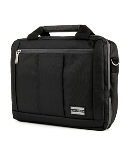 El Prado Laptop Messenger/ Backpack (Black) 15-17