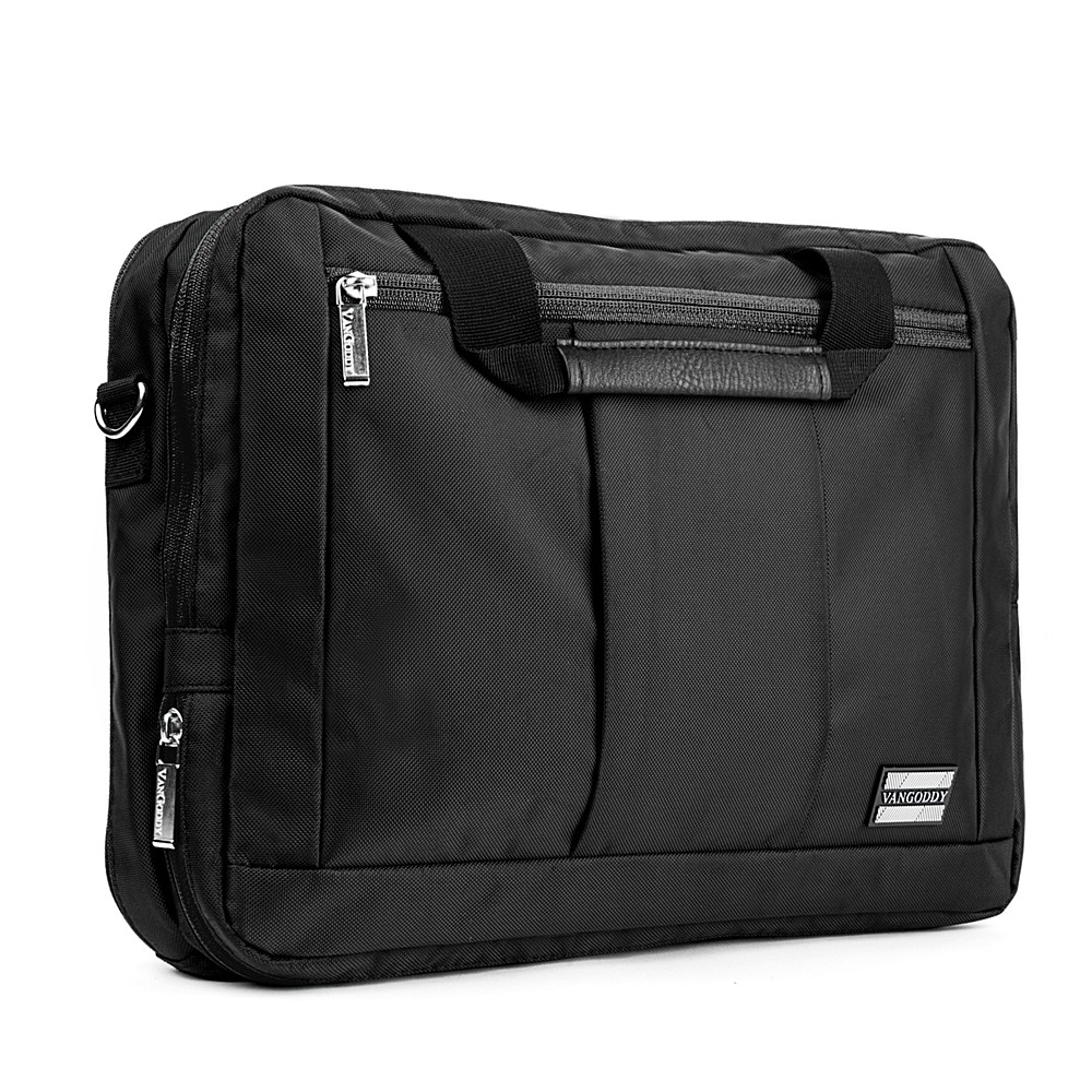 El Prado Laptop Messenger/ Backpack (Black) 13-14