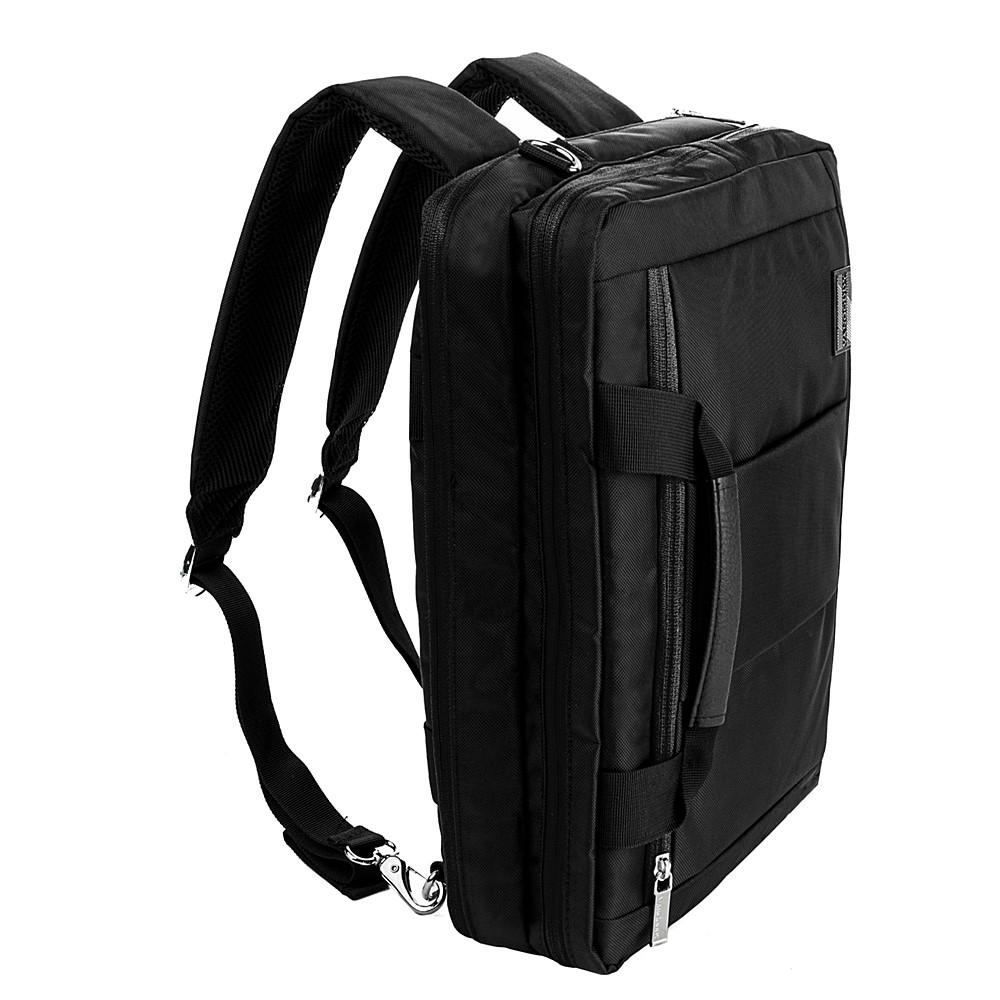 "El Prado Laptop Messenger/ Backpack (Black) 13-14"""