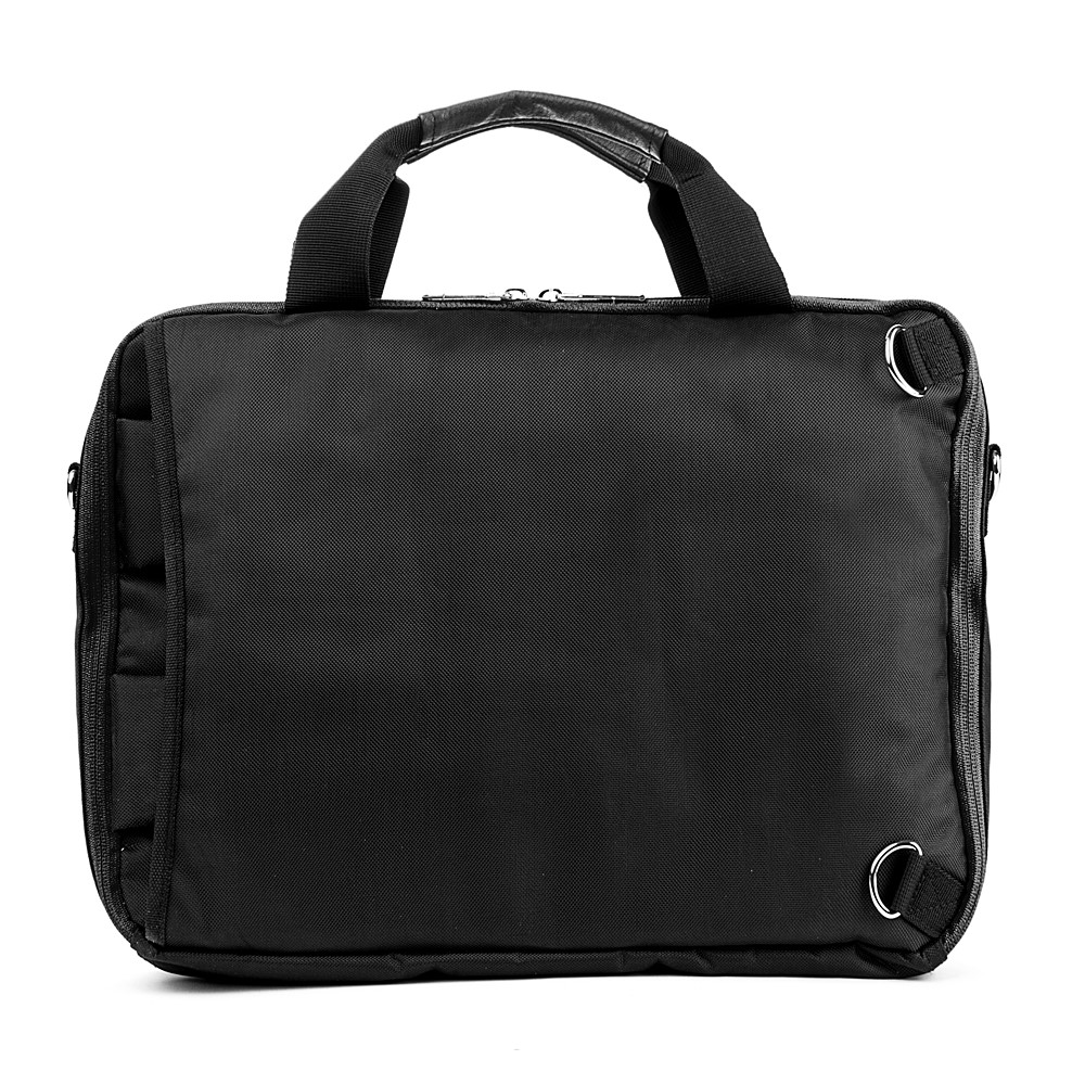 El Prado Laptop Messenger/ Backpack (Black) 15-17