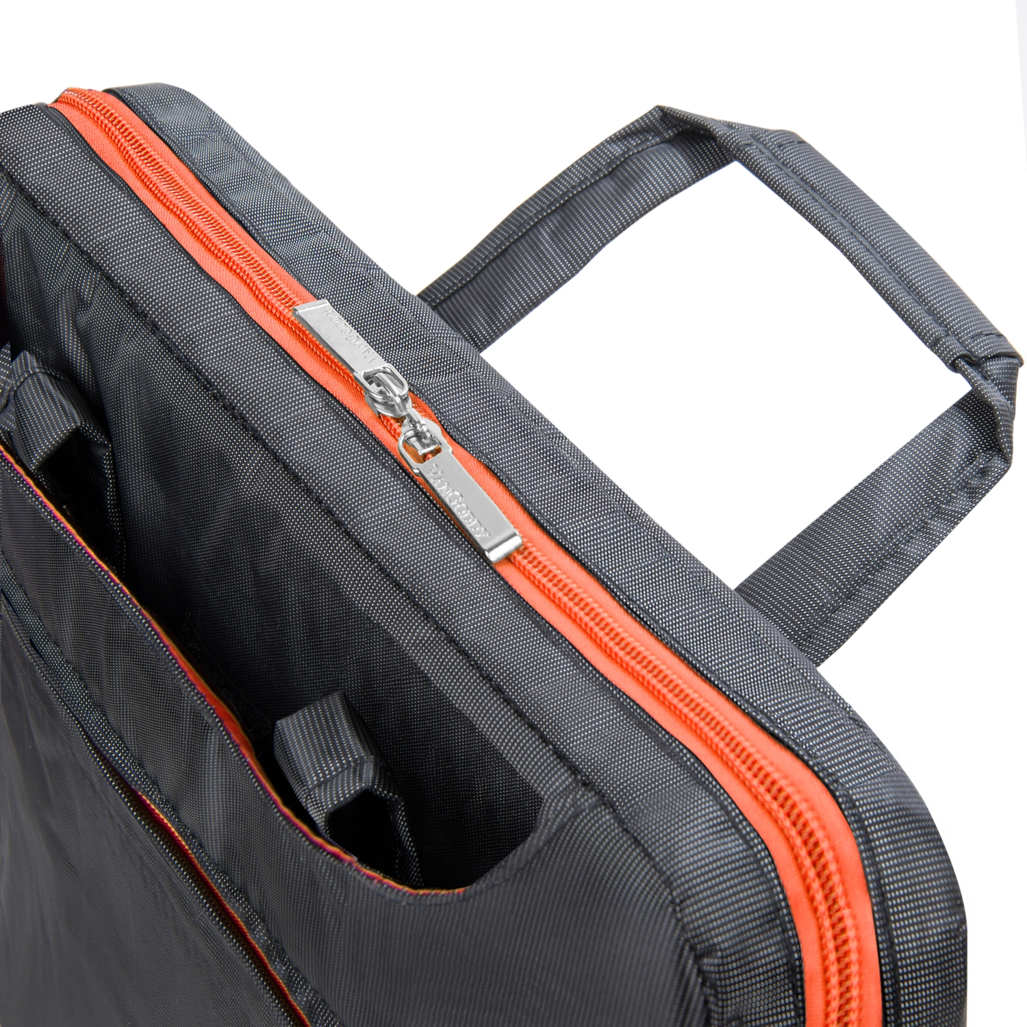 "NineO Messenger Bag 15""  (Gray/Orange)"