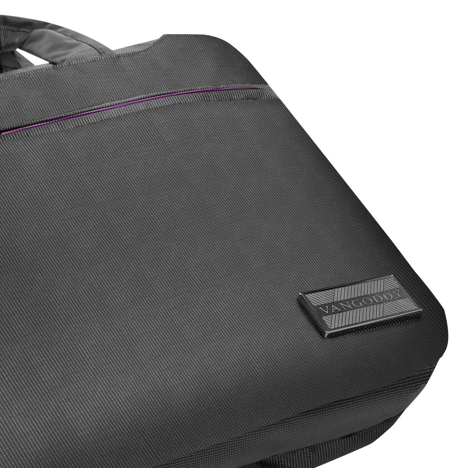 "NineO Messenger Bag 15"" (Gray/Purple)"