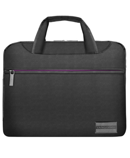 "NineO Messenger Bag 13"" (Gray/Purple)"
