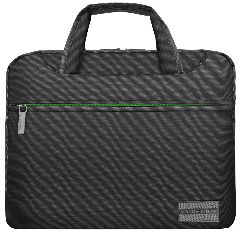 """NineO Messenger Bag 13"""" (Gray/Green)"""