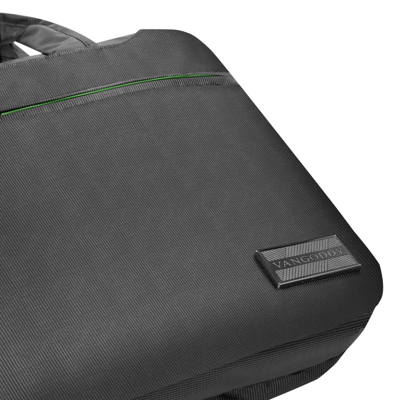 """NineO Messenger Bag 15"""" (Gray/Green)"""