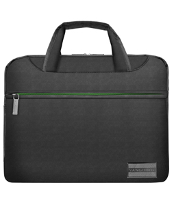 "NineO Messenger Bag 13"" (Gray/Green)"