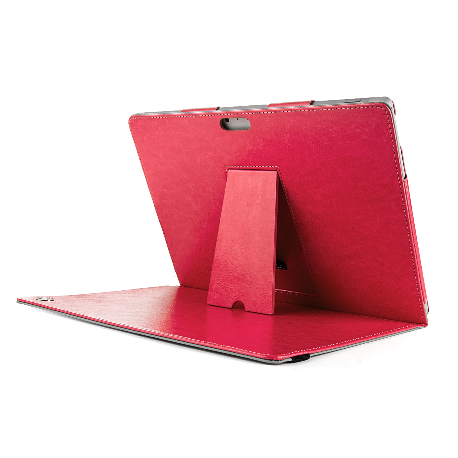 Alpha Portfolio Leather Case for Microsoft® Surface Pro 3 (Magenta)