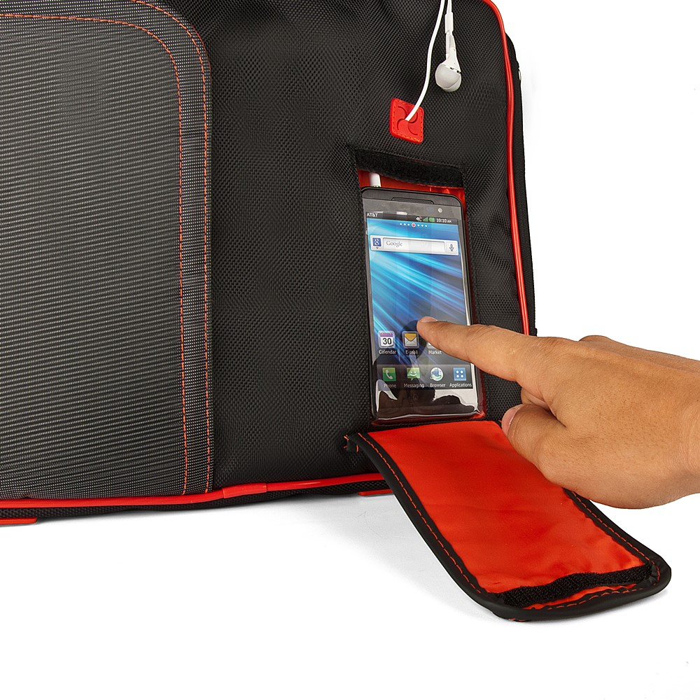 (Black/Red) Pindar Shoulder Case 11""