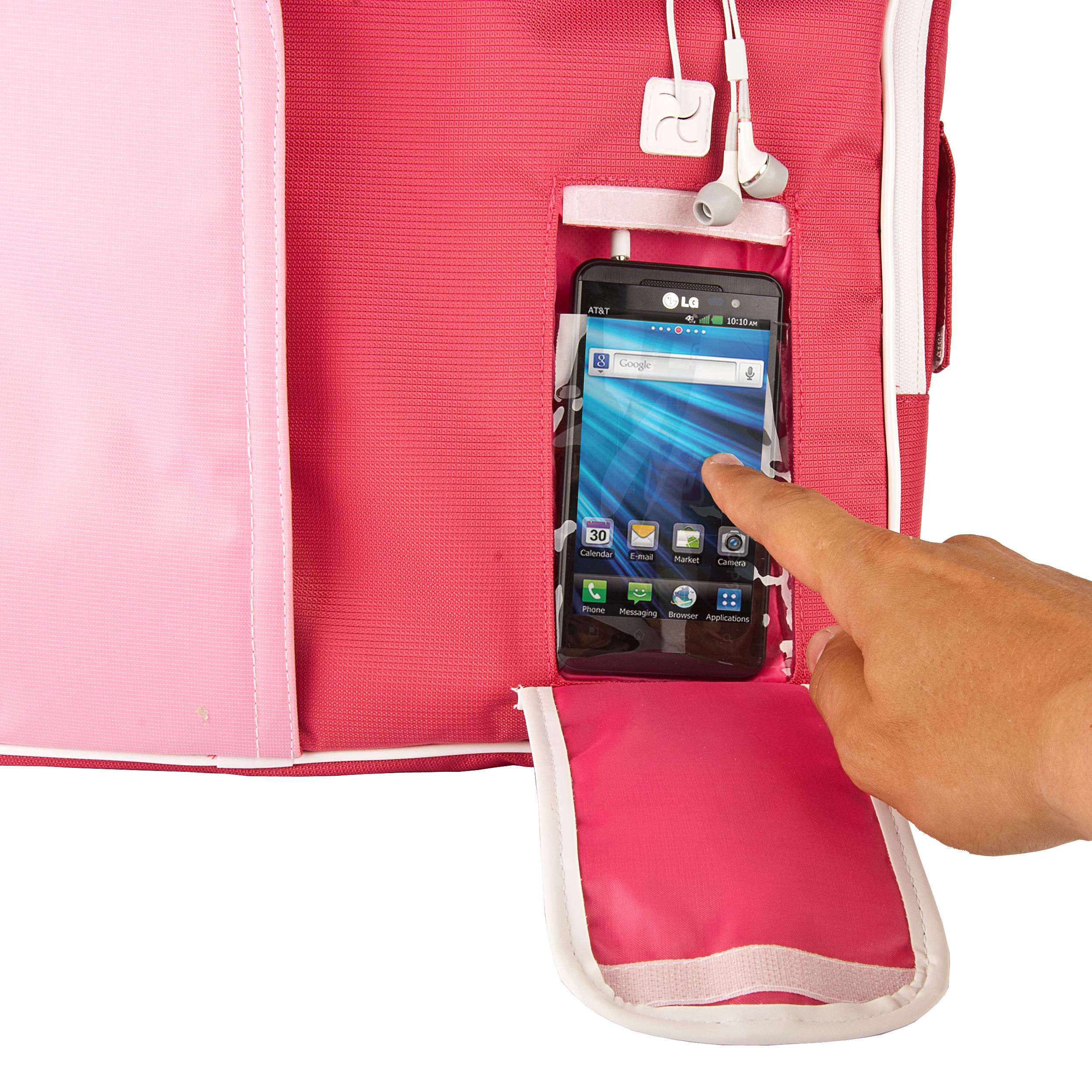 (Pink/White) Pindar Shoulder Case 12-13