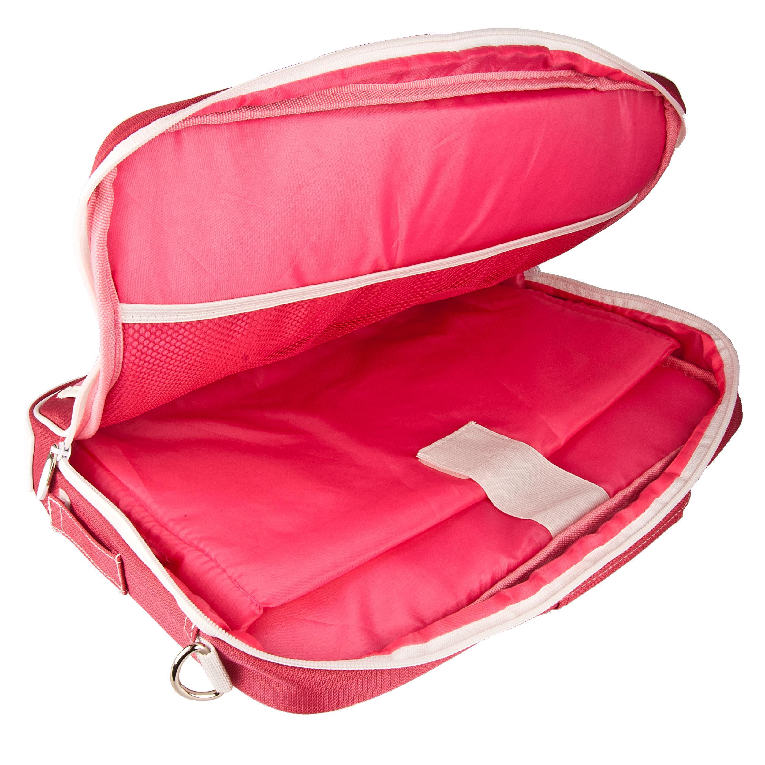 """(Pink/White) Pindar Shoulder Case 11"""""""