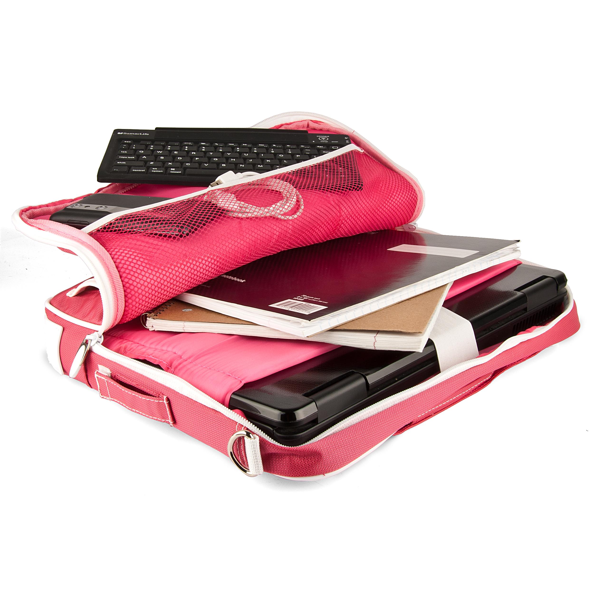 """(Pink/White) Pindar Shoulder Case 12-13"""""""