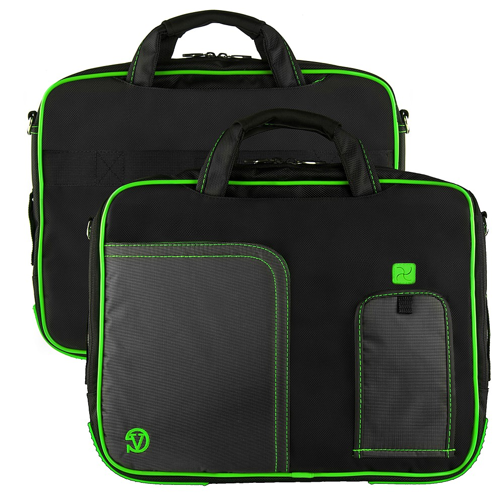 (Black/Green) Pindar Shoulder Case 12-13""