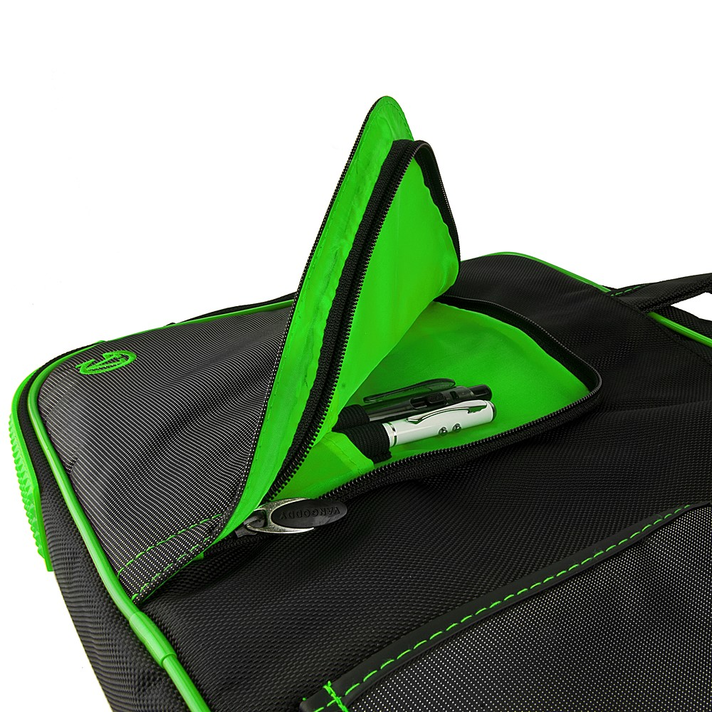 (Black/Green) Pindar Shoulder Case 12-13