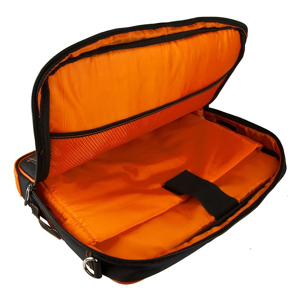 """(Black/Orange) Pindar Shoulder Case 12-13"""""""