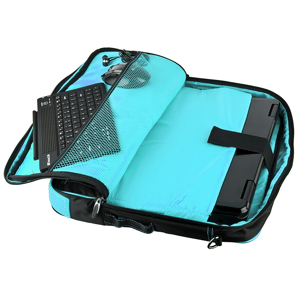 (Black/Aqua) Pindar Shoulder Case 12-13