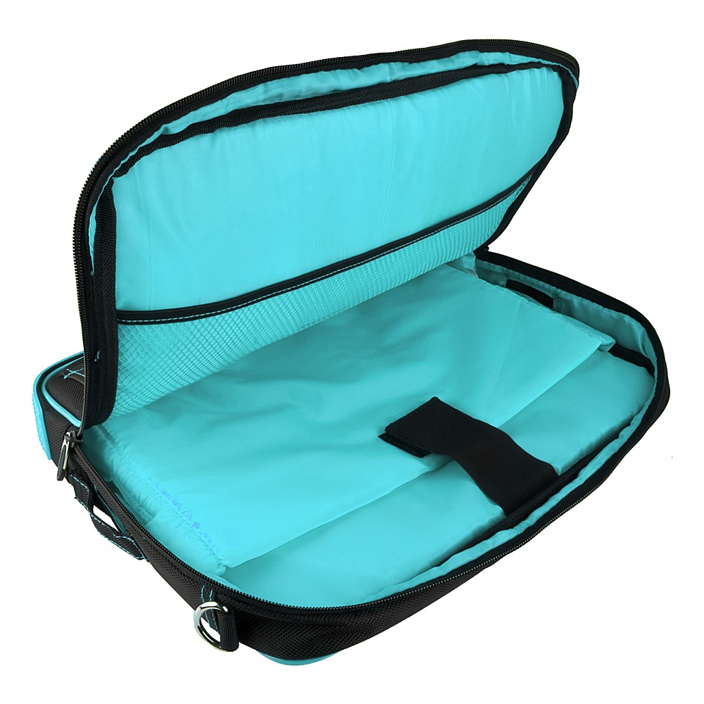(Black/Aqua) Pindar Shoulder Case 12-13""