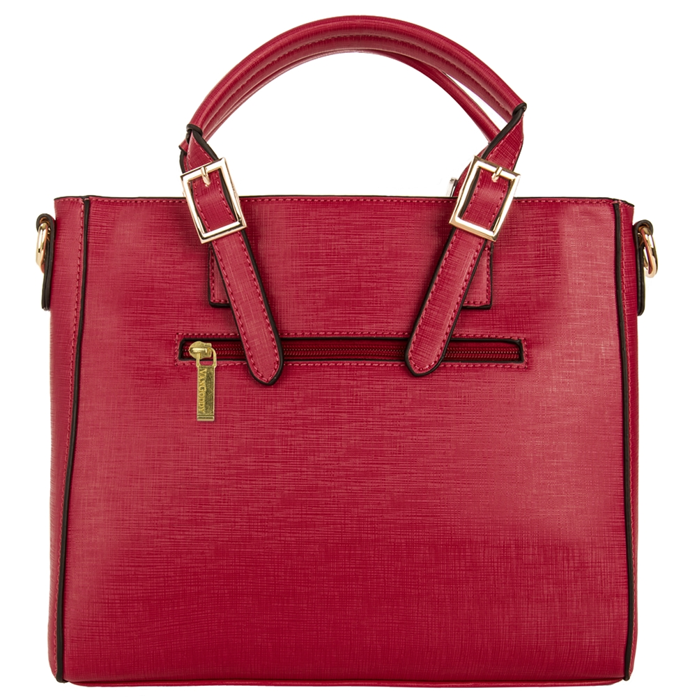 Pallia Satchel (Red)