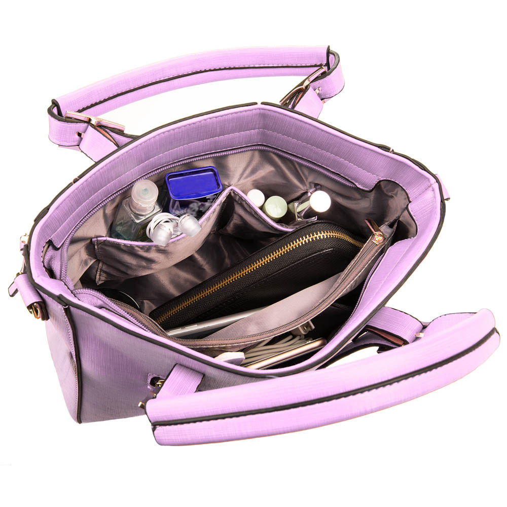 Pallia Satchel (Light Purple)