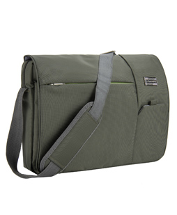 Italey Laptop Messenger Bag (Olive Green)