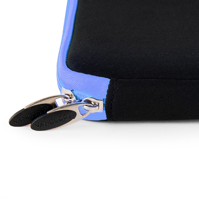 "Neoprene Sleeve 17"" (Black/Blue Trim)"