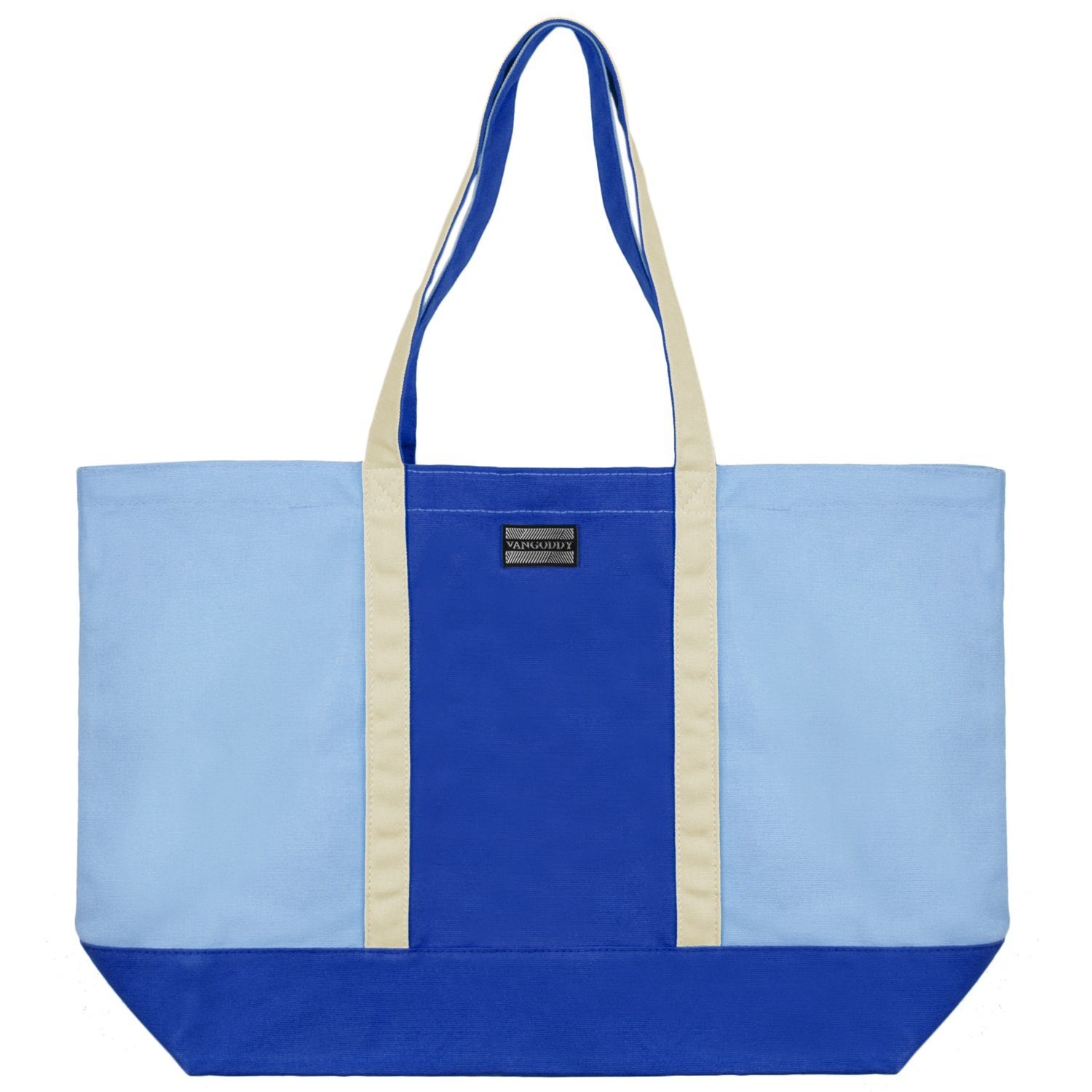 Isling Tote Bag (Royal Blue/Natural)